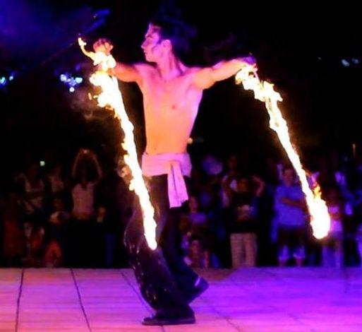 Огнено Шоу в Кюстендил