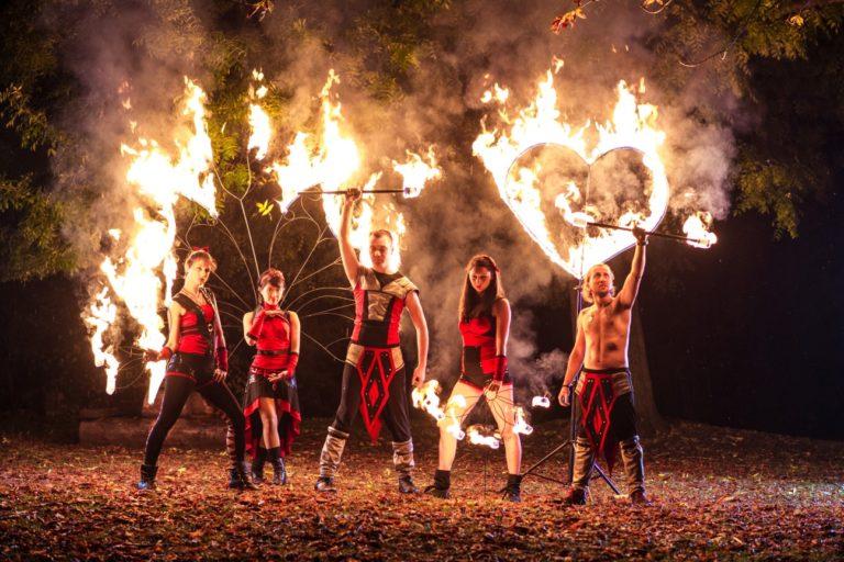 Огнено Шоу Дивинитас във Видин
