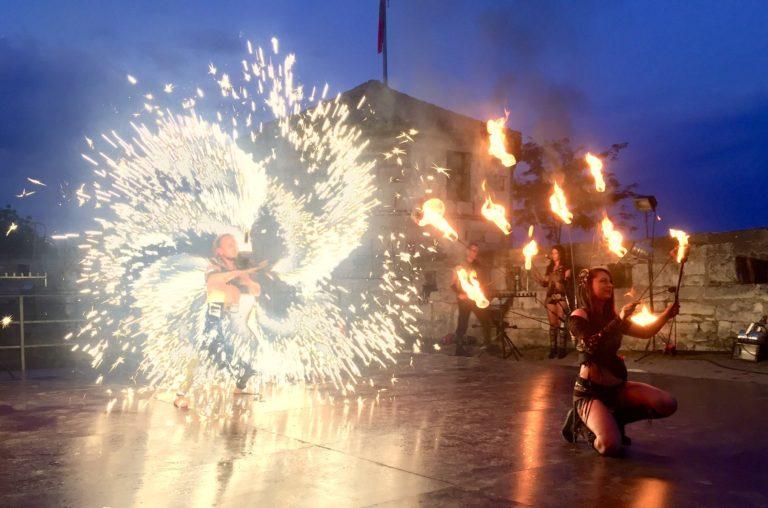 "Концерт и огнено шоу сред стените на крепостта ""Баба Вида"""