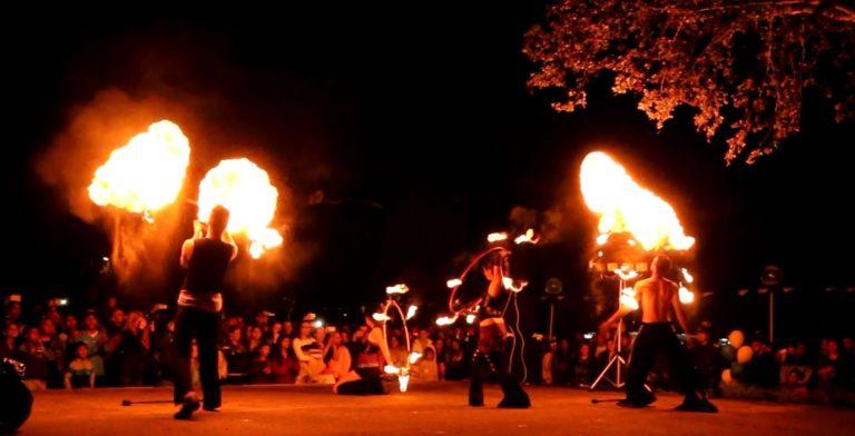 Огнено шоу в Община Струмяни